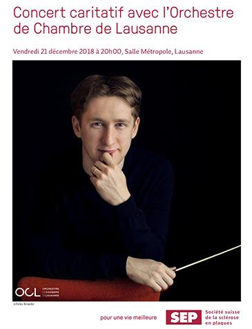Orchestre de Chambre de Lausanne en faveur de la sclérose en plaques
