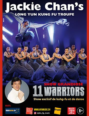 Jackie Chan's 11 warriors