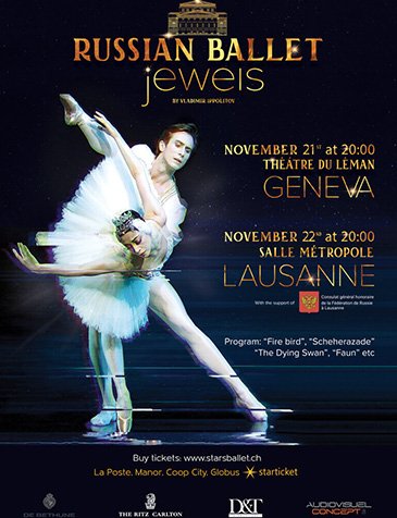 Russian Ballet Jewels