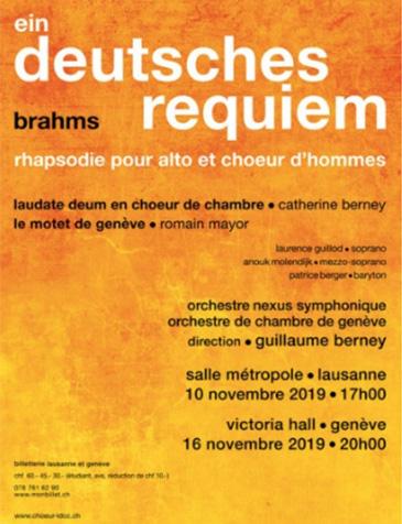 Choeur Laudate Deum – Ein deutsches Requiem